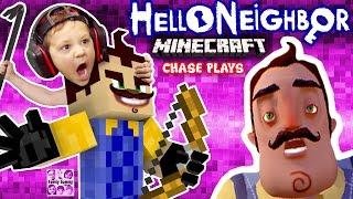 Download HELLO NEIGHBOR MINECRAFT IMPOSTER! FGTEEV Chase Plays! (Mod Map of Horror Adventure w/ ZOMBIE) Video