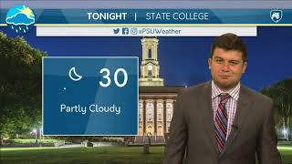 Download Friday Evening Forecast (12-1-17) Video