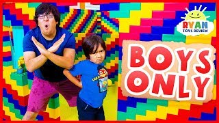 Download Giant Lego Box Fort No Girls Allow!!!! Video