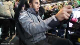 Download Lewis Hamilton V Ali A - Head to Head on Vesaro Racing simulators Video