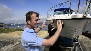 Download Motor Boat & Yachting - Vinyl hull wrap video Video