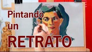 Download CLASE PRO: PINTANDO UN RETRATO A TIEMPO REAL. ÓLEO. Video
