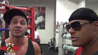 Download CHRISTIAN & MAYWEATHER BODYGUARD RAY TALK ABOUT SPARRING SESSION THAT WENT VIRAL Video