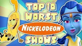 Download Top 10 WORST Nickelodeon Cartoons Video