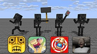 Download Monster School : BEST WITHER SKELETON MONTAGE - Minecraft Animation Video