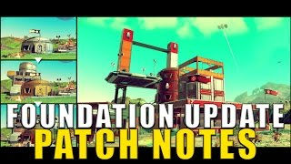 Download No Man's Sky: Foundation Update Patch Notes! (Version 1.1) Video