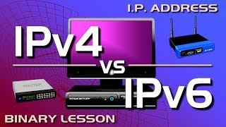 Download IP Address - IPv4 vs IPv6 Tutorial Video