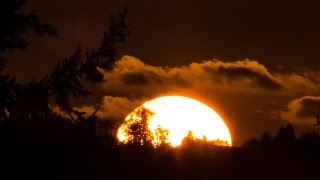 Download Forest Ridge - September 30, 2014 - Sunset Time Lapse Video