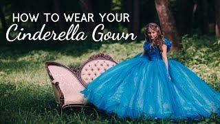 Download How to Wear Your Cinderella Dress ~ Bella Mae's Designs Video