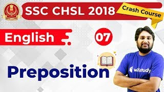 Download 8:30 PM - SSC CHSL 2018 | English by Harsh Sir | Preposition Video