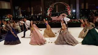 Download BEST INDIAN BOLLYWOOD WEDDING RECEPTION DANCE 2018 Video