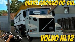 Download VOLVO NL12 - MATO GROSSO DO SUL - EURO TRUCK SIMULATOR 2 - VOLANTE G27 Video