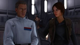 Download Star Wars Battlefront: Jyn Erso vs Director Krennic 1v1 Battle Video