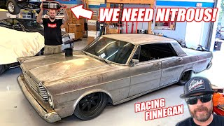 Download Our Cummins Powered Galaxie Gets a GHETTO Nitrous System... Will It Work? (Racing Roadkill Truck) Video