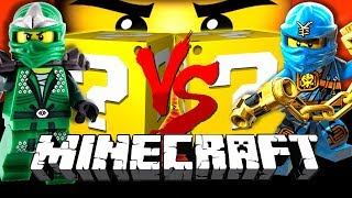 Download Minecraft: LEGO NINJAGO LUCKY BLOCK CHALLENGE | DENMARK MADE LEGOS?! Video