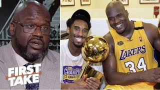 Download 'Me and Kobe had tension all the time, but we respected each other'- Shaq on Harden-CP3   First Take Video
