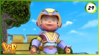 Download Vir: The Robot Boy | Bunty The Robot Boy | Action Show for Kids | 3D cartoons Video