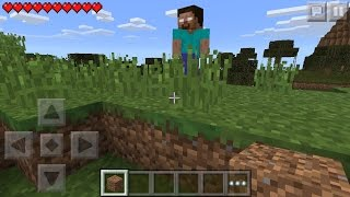 Download I FOUND HEROBRINE !!! Minecraft Pocket Edition 0.14.0 horror film Video