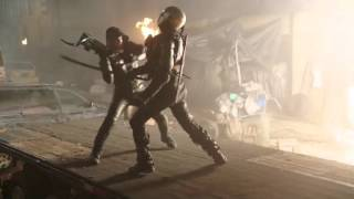 Download 2046 Old Oliver Queen Green Arrow Fight Scene in DC's Legends of Tomorrow Video
