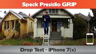 Download Did it pass the 10 ft drop? Speck Presidio GRIP Drop Test - iPhone 7 cases Video