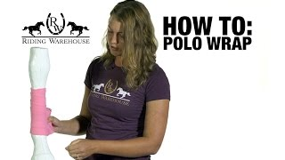 Download How To Correctly Polo Wrap Your Horse's Legs Video
