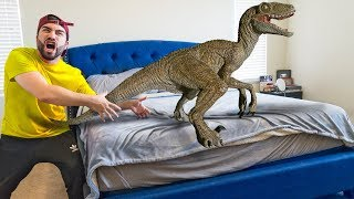 Download DINOSAURS Came into my HOUSE! Video