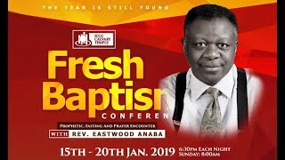Download Fresh Baptism Conference with Eastwood Anaba Video