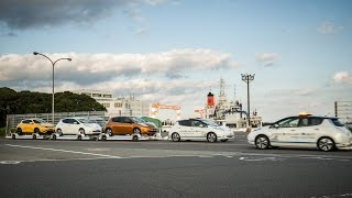 Download Nissan driverless towing system at Oppama Plant Video