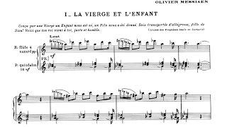 Download Olivier Messiaen: ″La Nativite du Seigneur″ (The Birth of the Lord) (I-IX) with score Video