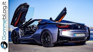 Download BMW i8 Roadster - Interior + Exterior Car Design + DRIVE Video