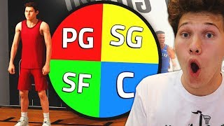 Download SPIN The WHEEL To CREATE My Player For the Park! NBA 2K19 Video