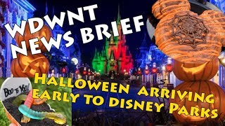 Download Halloween Treats and Merchandise coming to Disney Parks this fall - WDWNT News Brief Video
