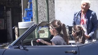 Download EXCLUSIVE - Kendall Jenner Stops Muscle Car To Feed Homeless Man Video