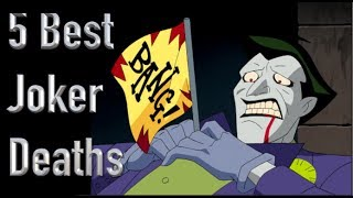 Download The 5 Best Deaths Of The Joker Video