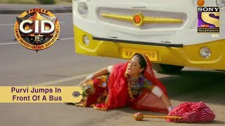 Download Your Favorite Character   Purvi Jumps In Front Of A Bus   CID Video