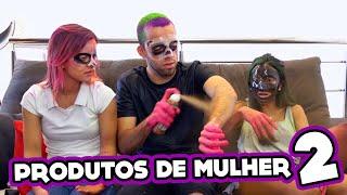 Download HOMEM TESTANDO PRODUTOS DE MULHER 2!! (Máscara de Panda etc.) Video