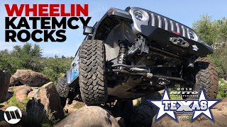 Download EVO Gladiator Truck and JL Wrangler Off Road Katemcy Rocks Texas at NITTO JEEP EXPERIENCE Part 2 Video