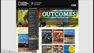 Download Outcomes Website Guided Tour - NGL.Cengage/outcomes Video