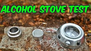 Download 3 Alcohol Stoves put to the Test Video