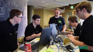 Download Students play simulated hacking game to learn about cybersecurity Video