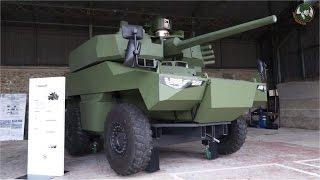 Download Jaguar EBRC Reconnaissance Combat Armored Vehicle blindé reconnaissance Scorpion Program French army Video