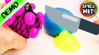 Download Squishy Mesh zerschneiden! Schleim Glibber Experimente - Spielzeug aufschneiden Video