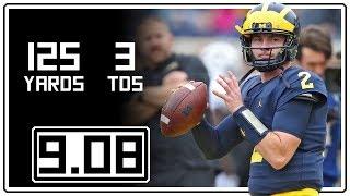 Download Shea Patterson Full Highlights Michigan vs Western Michigan    9.08.18    125 Yards, 3 TDs Video