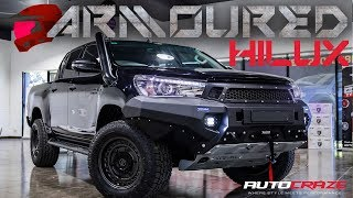 Download ARMOURED HILUX // CRAZY MODIFIED 4X4 BUILD Video