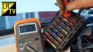 Download Land Rover Electrical fault finding & diagnosis. Starter circuit - relay Video