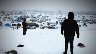 Download Dakota Access Pipeline protesters plan to defy evacuation order Video