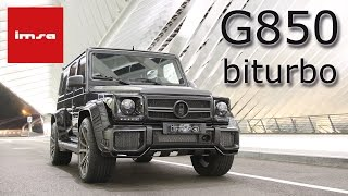 Download IMSA G63 850biturbo Video