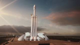 Download Falcon Heavy Animation Video