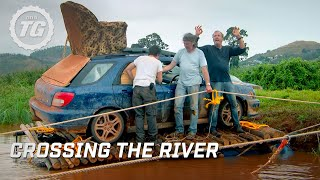 Download Crossing the river | Top Gear Africa Special | Series 19 | BBC Video