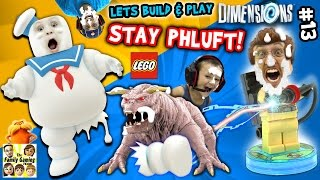 Download Lets Build & Play LEGO Dimensions #13: MARSHMALLOW FACES! S'more Ghostbusters (FGTEEV Messy Pt. 2) Video